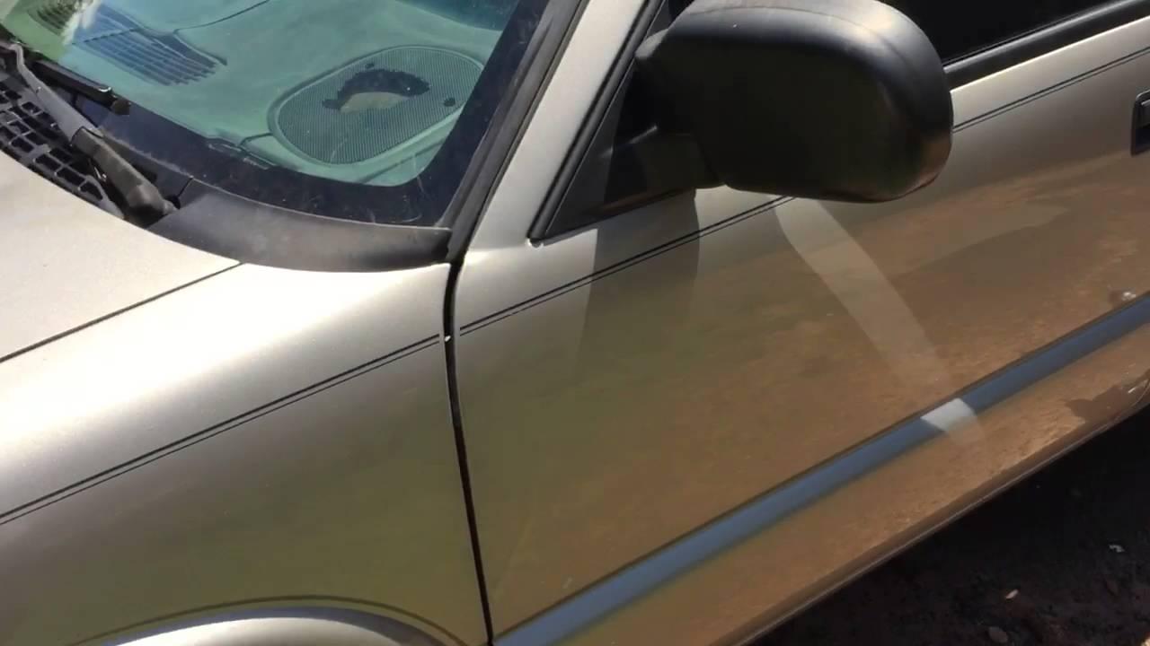 GMC Fix Seat Broken Handle - YouTube