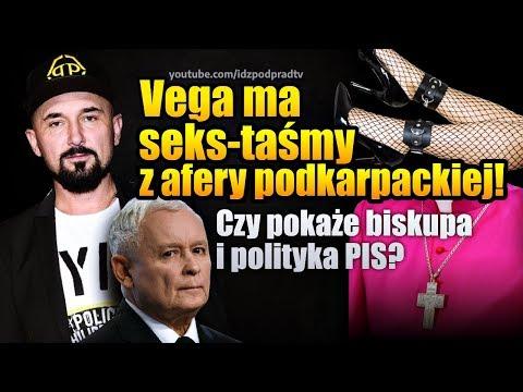 P. Vega ma seks-taśmy z #AferaPodkarpacka! Czy pokaże biskupa i polityka PiS? IPP NA ŻYWO 2020.02.21