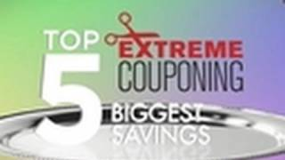 Top Five Biggest Coupon Savings | Extreme Couponing
