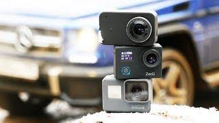 Обзор и сравнение экшн-камер 2018 года
