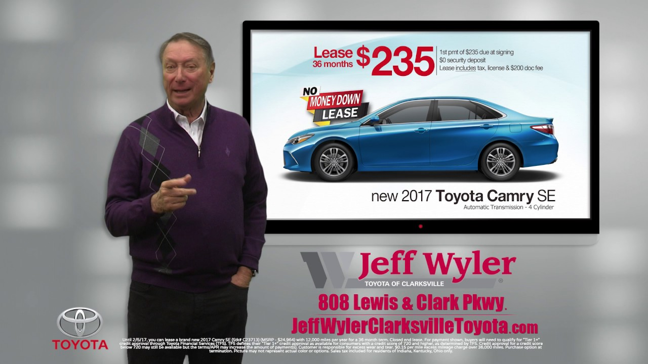 Jeff Wyler Toyota Of Clarksville January 2017 Special   Camry