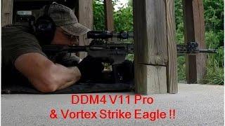 daniel defense m4v11 pro vortex strike eagle 1x6 scope accuracy tac test review