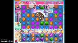 Candy Crush Level 1409 help w/audio tips, hints, tricks