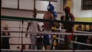 Aziz Hilal match kickboxing 2017 Video
