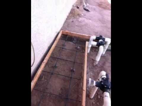 Pool Equipment Pad Build #1