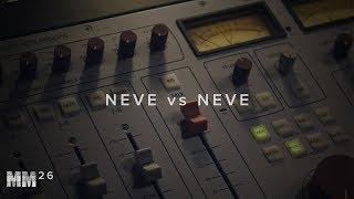 NEVE vs NEVE vs SSL vs API vs MAAG vs DBX vs NEVE