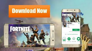 How to download fortnite android