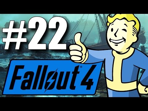 Fallout 4 Far Harbor DLC - Part 22 - ASSASSINATION! (New Survival Mode)