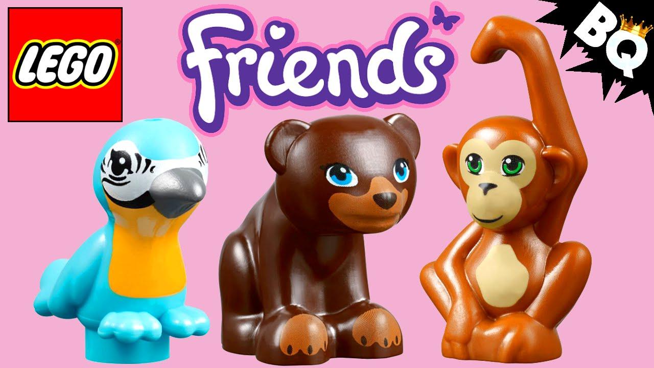 Lego Friends Tiere