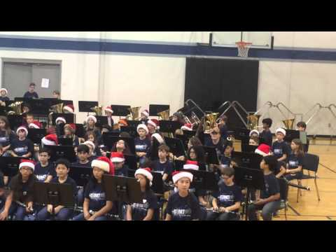 Tuba performance at Canyon Ridge Middle School