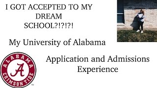 university of alabama application essay Considering alabama state apply smart discover alabama state university application information, deadlines, admissions requirements, fees, and more.