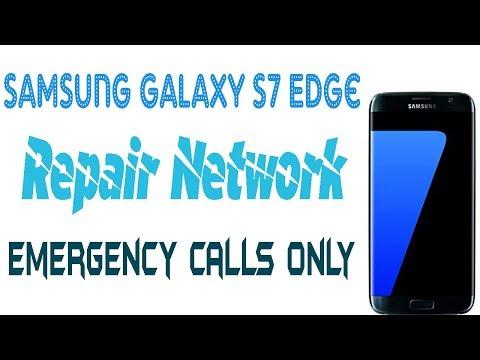 How To Repair Network Samsung Galaxy S7 Edge | G935F