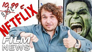 Hulk Darsteller spoilert auf neuem Niveau :) - Netflix wird teurer - FILM NEWS