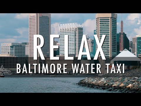 Relaxing Ride on a Baltimore Water Taxi - September 2017