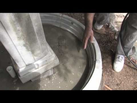 buiding the fountain