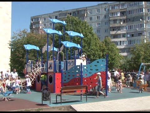 Самая большая детская площадка в Белгородской области