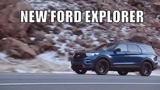 New Ford Explorer 2020 Новый Форд Эксплорер 2020 - обзор автомобиля