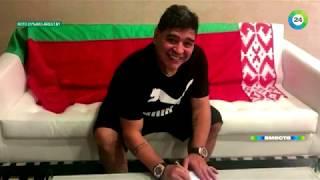 Диего Марадона из Бреста. Легендарный футболист прописался в Беларуси