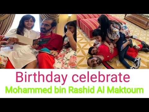 Birthday Mohammed Bin Rashid Al Maktoum The 70th Birthday