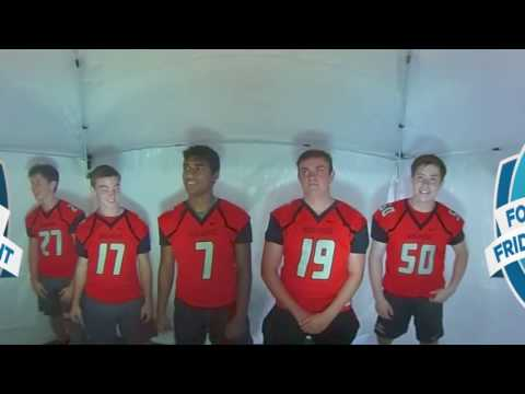 WFTV 360 Photo Booth at High School Football Media Day - Lake Highland Preparatory School