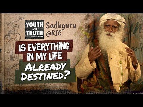 Is Everything In My Life Already Destined? #UnplugWithSadhguru