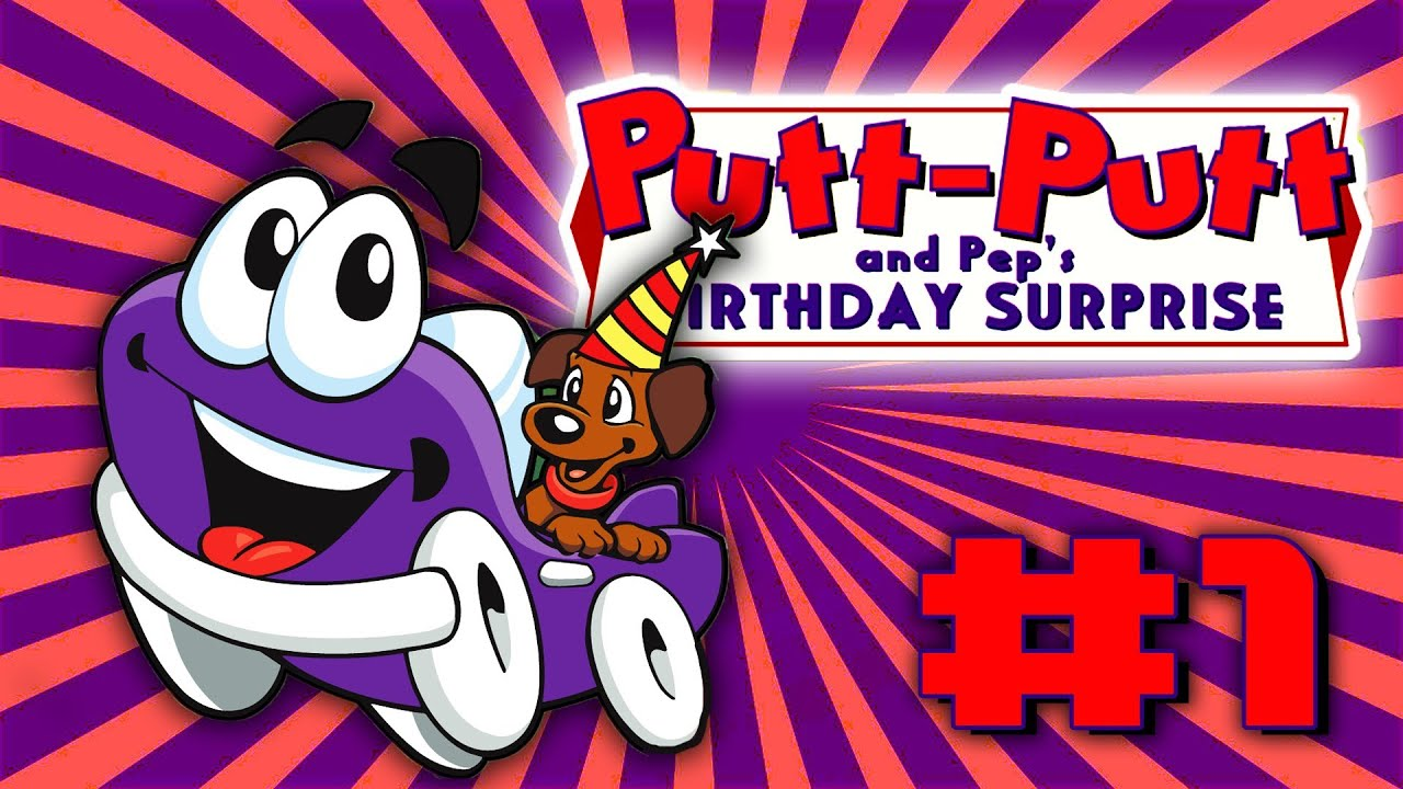 Putt Putt Car : Putt pep s surprise birthday party a game about