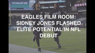 Eagles Film Room: Sidney Jones flashed elite potential in NFL debut