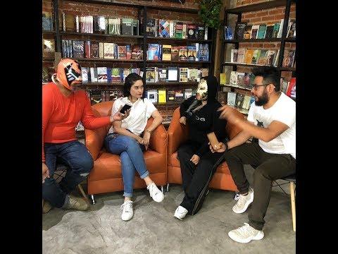 Edyah Barragan se quita la mascara en México con Los Santurrones !!