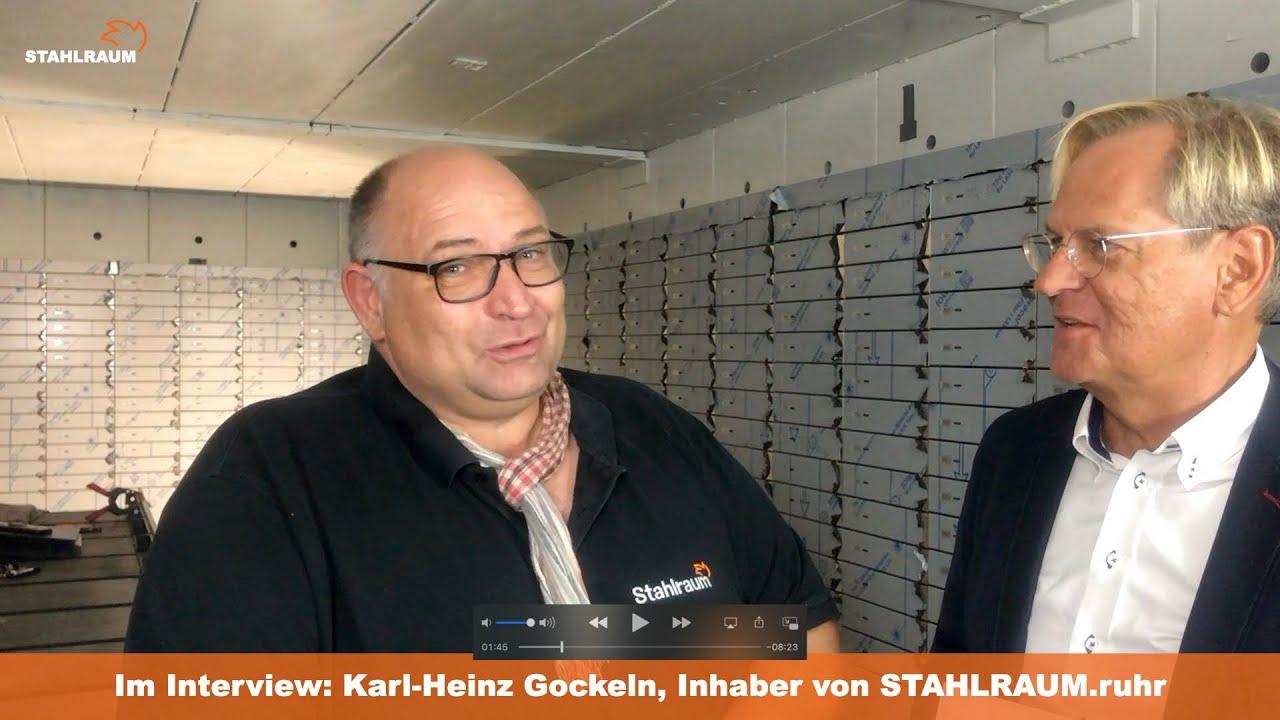 STAHLRAUM.ruhr -  Interview mit Karl-Heinz Gockeln