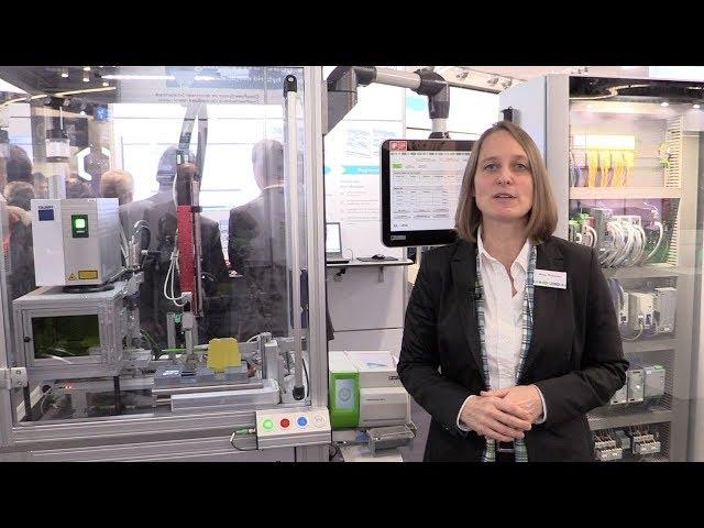 Durchgängig digitalisierte Maschinen