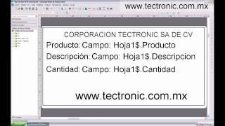 Software de Etiquetas Bartender Uso con Base de Datos, Excel y Filtros de Productos