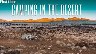 FIRST TIME CAMPING IN THE DESERT - U.S. Road Trip 2018 - Part 3