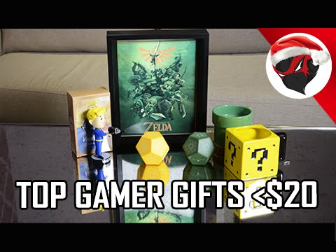 Top Holiday Gamer Gifts Less than $20 (2015 Gift Guide)