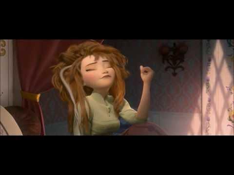 Disney's Frozen - Anna waking up