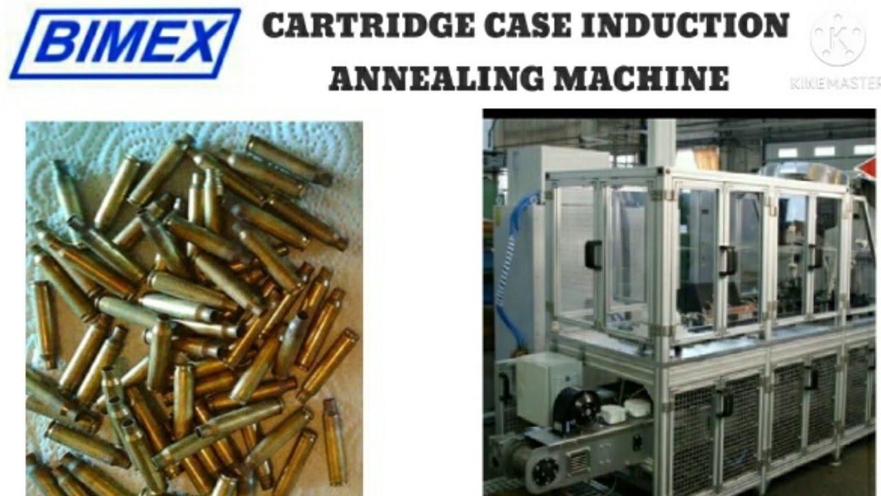Cartridge Case Induction Annealing Machine | Ammunition Machinery