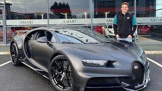 MY FRIEND BOUGHT A BUGATTI CHIRON SPORT NOIRE!
