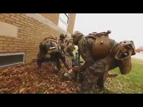 Marines Conduct Embassy Reinforcement Training
