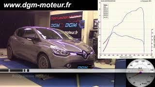 Reprogrammation DGM RENAULT Clio 4 0.9L TCE 90ch 2015 - EVO1.5