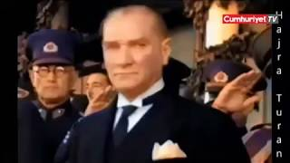 Yapay zeka teknolojisiyle renklendirilen Atatürk videosu izlenme rekorları kırdı