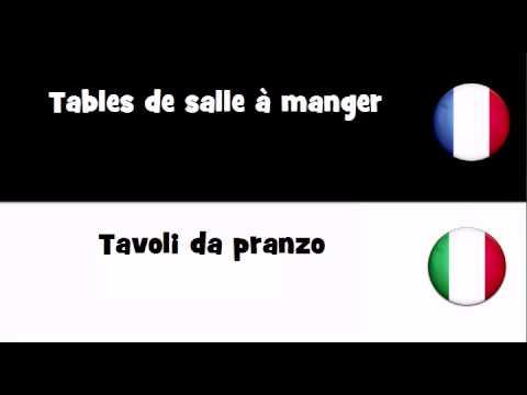 TRADUCTION EN 20 LANGUES = Tables de salle à manger - YouTube
