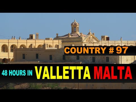 A Tourist's Guide to Valletta, Malta