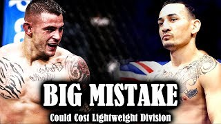 Max Holloway vs Dustin Poirier for Interim Title, puts everything in jeopardy
