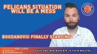 NBA FANTASY | Davis And Holiday Losing Minutes, New Kings Lineup, Friday DFS