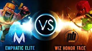 ClashingMatty (Emphatic Elite) vs Powerbang (Wiz Honor Face) | Clash of Clans