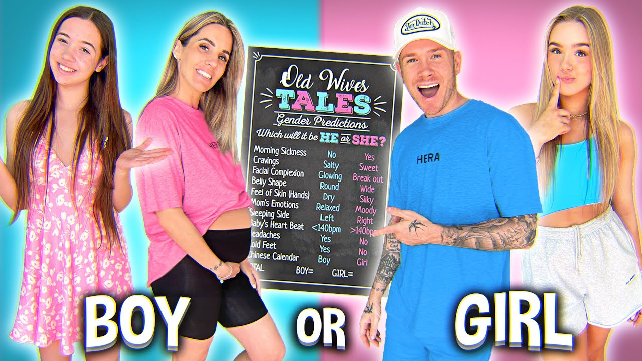 Trying 13 Old Wives Tales GENDER PREDICTION Tests! *Baby Boy or Girl?!