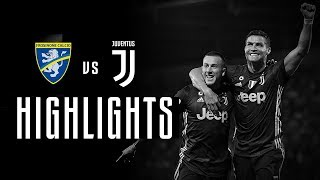 HIGHLIGHTS: Frosinone vs Juventus - 0-2 - Serie A - 23.09.2018 | CR7's first away goal