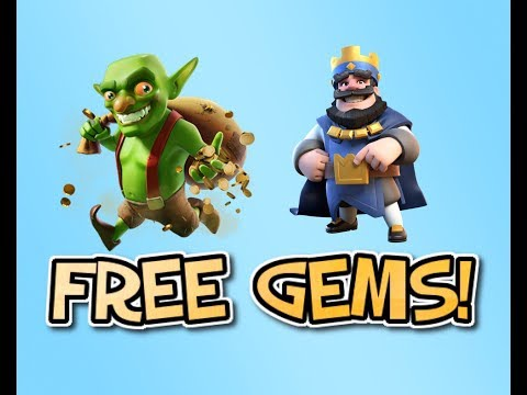 HOW TO GET FREE GEMS! CLASH ROYALE | CLASH OF CLANS | FreeMyApps
