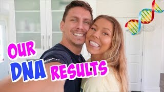 OUR DNA RESULTS!!!