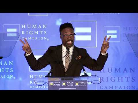 Billy Porter Receives the HRC Visibility Award
