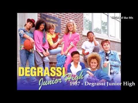 1987 - Degrassi Junior High - Intro Opening